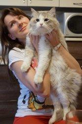 Саня и его добрая хозяйка Оленька
